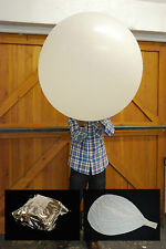 High Altitude Weather Balloons, foil sealed & Parachutes 200g 600g 1000g 1200g