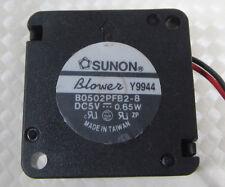 SUNON B0502PFB2-8 25x25x10 2510 DC 5V 0.65W Mini Blower Fan 2pin Connector 5pcs