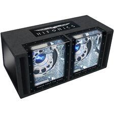 HIFONICS BXi 12 Dual  Gehäusesubwoofer Twin Box 2x 30cm
