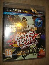 GIOCO PS3 PLAYSTATION 3 KUNG FU RIDER CORSE PAZZE A HONG KONG MOVE RICHIESTO ITA