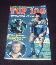RUGBY LEAGUE WEEK'S TOP 100 AUTOGRAPH BOOK