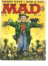 MAD MAGAZINE #43 (DEC 1958)  VERY GOOD