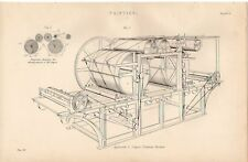 Máquina de impresión de impresión de 1868 Applegarth & Cowpers