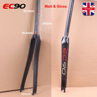 "EC90 Carbon Rigid Forks Road Bike 28.6mm(1-1/8"")*700C Matt/Gloss Bicycle Fork"