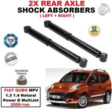 AMMORTIZZATORI POSTERIORI PER FIAT QUBO MPV 1.3 1.4 Natural Power D Multijet