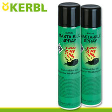 Kerbl 2x 400ml Pharmacien - Tuer Spray Insecticides Lutte Contre Schädling