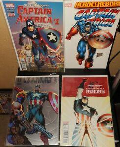 Marvel comics Captain America foil variant tpb lot  rare oop nm avengers thor