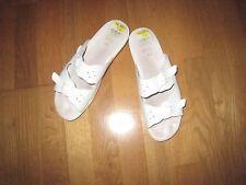 Damen Pantolette/Clogs/Gesundheitsschuh, Gr. 40 weiß