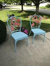Pier One Flamingo Chairs New. Bought But Did Not Work With My Current Furniture