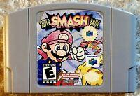 Super Smash Bros. (64, 1999) Game Only *TESTED & WORKING* Label Damage