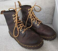 Dr. Martens 1460 8 Eye Brown Boots Size 6 Men or Boy Made in England