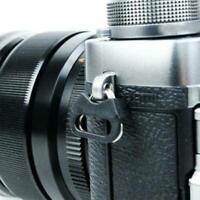 4x Camera Strap Triangle Split Ring Adapter+Cap For Fuji Canon New Lecia O2H2