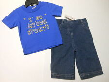 Jeans Boys clothes Boys Hype Jeans Baby boys outfits Pants T-Shirts 2 PC 6 mos