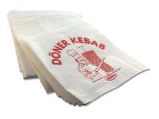 4000x Dönertüten - Dönertaschen Verpackung 16x16cm Döner Kebab Druck Dönertüte