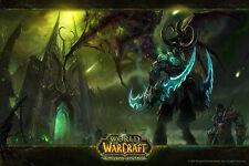 ILLIDAN Terrorblade DOTA2 Warcraft WOW Silk Wall Huge Poster 24x36 inches
