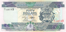 Solomon Islands 50 Dollars 1996 Unc pn 22