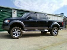 Ford F150 2004-2008 Pickup Fender Flares Rivet Pocket Style matte black Smooth