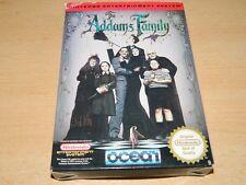 Nintendo NES-The Addams Family-gioco di culto-ORIGINALE-COMPLETO