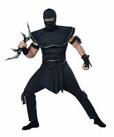 Adult Stealth Ninja Assassin Mens Costume