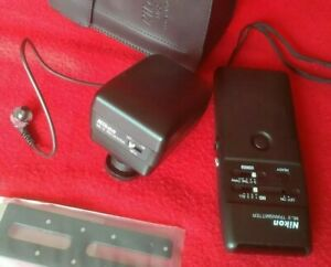 Nikon ml-2 tansmitter-ml2 modulite remote control set