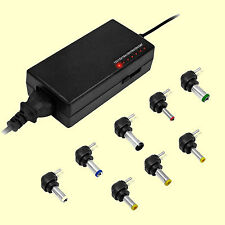 EAXUS 120W Universal Laptop/Notebook DC Adapter Netzteil Ladegerät mit 8 Stecker