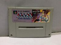 Nintendo Super Famicom Macross Scramble Valkyrie 1993 Banpresto Software