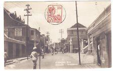Netherlands Antilles Sc#61(single frank)-CURACAO 24/12/25-REAL PHOTO POSTCARD