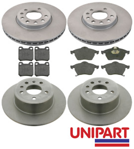 For Vauxhall - Vectra B 1995-2002 2.0 SRI GSi Front & Rear Brake Discs and Pads