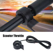 Speed Control 3 Wires Thumb Throttle Left Right Handle For E-Bike Scooter SA