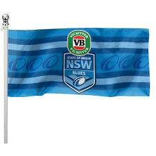 2018 State of Origin NSW New South Wales Blues Pole Flag LARGE 1800 x 900mm Gift