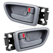 2) For Toyota Sequoia 01-07 Gray Front LH RH Driver Pass Side Inner Door Handle