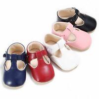 Toddler Prewalker Summer Sandals Newborn Baby Boy Soft Sole Crib Shoes Size 0-12