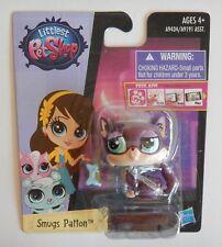 NEW Littlest Petshop LPS Hasbro Smugs Patton Purple Kitty Cat #3751 Toy