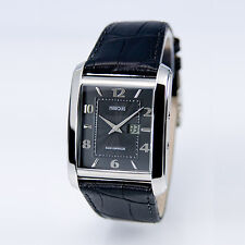 Funk Armbanduhr (deutsches Funkwerk) Funkuhr Armbanduhr Leder Uhr 983.4715
