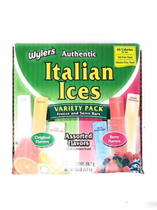 Wylers Italian Ice, 2 Ounce Pack Of 96