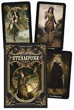 The Steampunk Tarot by Barbara Moore and Aly Fell (2012, Cards,Book)