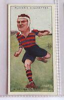WF Browne Ireland Footballers Caricatures 1926 John Player Cigarette Card (B5)