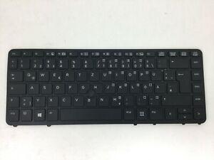HP ELITEBOOK 740 G1 750 G1 840 850 G1  Back lite Keyboard German 731179-041