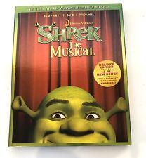 Shrek the Musical (Blu-ray/Dvd, 2013, 2-Disc Set)