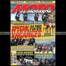 MOTO & MOTARDS N°54 YAMAHA YZF R1 WRF 426 BUELL XB9R DUCATI S4 SUZUKI GSXR 1000