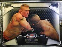 2012 Brock Lesnar Topps UFC Finest Refractor SP/ Former UFC Heavyweight Champion
