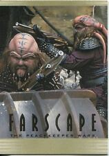 Farscape Through The Wormhole Peacekeeper Wars Chase Card PW11