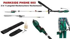 Parkside 2 in 1 Langstiel Heckenschere Hochentaster PHSHE 900 Kombisystem TOP