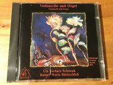Werke für Cello und Orgel. Schwenk, Rückschloß. 1 CD
