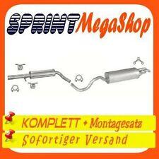 Auspuff VW Golf 4 IV Kombi 1,4i 16V 1,6i 16V 1,9 SDi 1999/206 1505