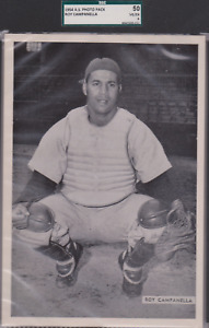 1954 All Star Photo Pack Roy Campanella SGC 50 P905