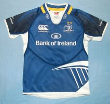 Leinster Rugby / 2012-2014 Home - CANTERBURY - CHILDREN Shirt / Jersey. 8 YRS