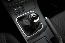 Genuine Mazda 6 2009-2012 Gear Lever Knob - Black Leather/Chrome - G39A-46-030