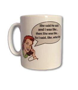Cheeky Banter Gift Mug - Gossip Girl