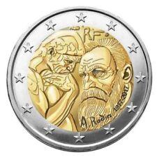 France 2017 - 2 Euro commémorative-Centenaire de Auguste RODIN (UNC)